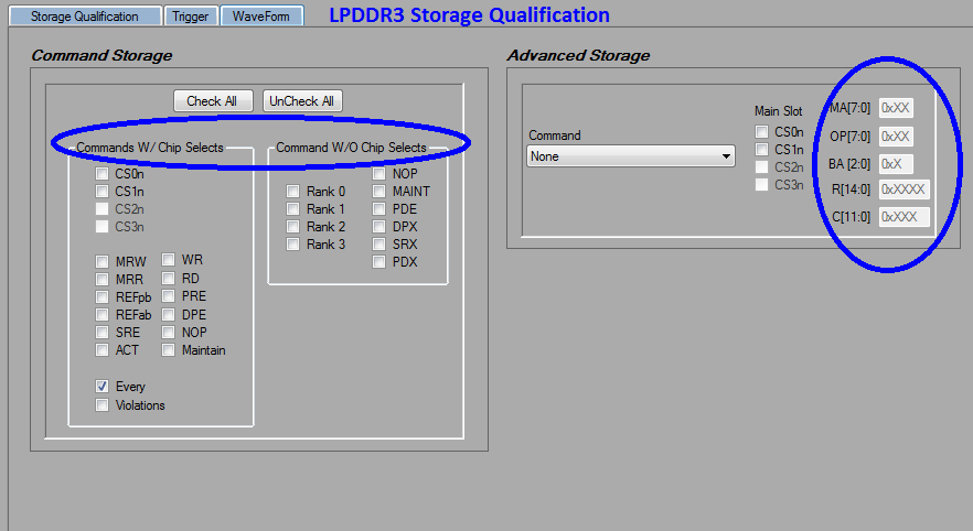 LPDDR3 Detective Storage Qualification